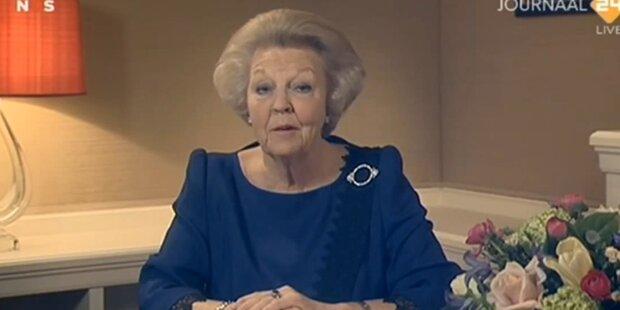 Niederlande danken Königin Beatrix