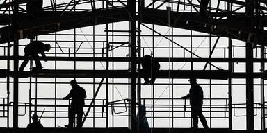 Baukonjunktur zog deutlich an