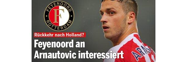 Feyenoord will Marko Arnautovic