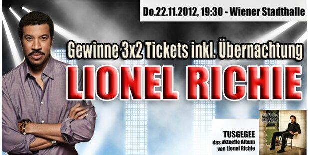 Wir bringen Sie zu Lionel Richie