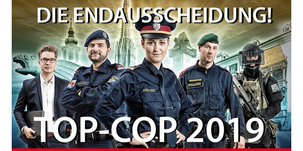 Wer wird Top-Cop 2019? - Das Final-Voting