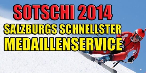 Salzburgs schnellster Medaillenservice