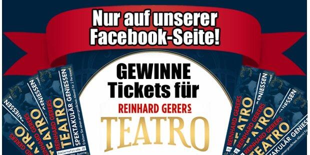 10x2 Teatro-Tickets gewinnen