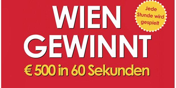 WIEN GEWINNT – € 500 in 60 Sekunden
