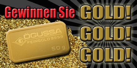Der Goldbarren geht in die Stadt Salzburg