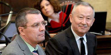 Aliyev: Freisprüche vom Doppelmord-Vorwurf