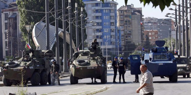 Kosovo lenkt im Grenzstreit ein