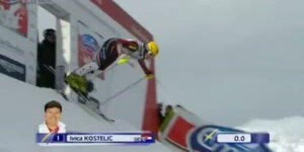 Slalom Adelboden, 1. DG, Ivica Kostelic