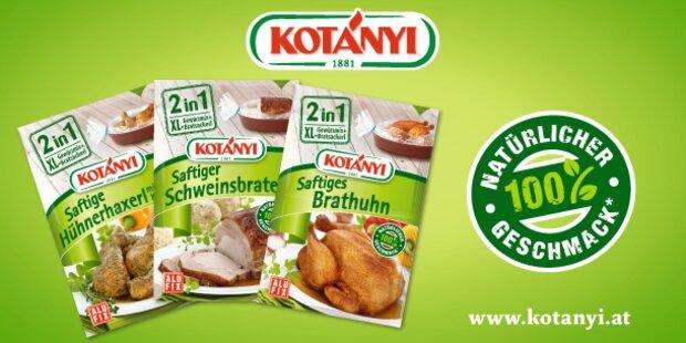 Kotányi 2in1 Gewürzmix + XL-Bratsackerl