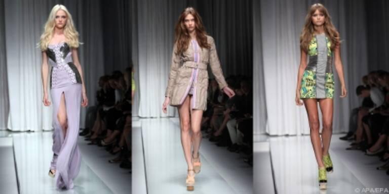 Kräftige Farben und die Röcke anrüchig kurz
