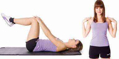 Kräftigen Sie Ihren Rücken mit Übungen