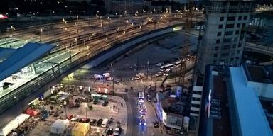 Flüchtlings-Drama am Hauptbahnhof