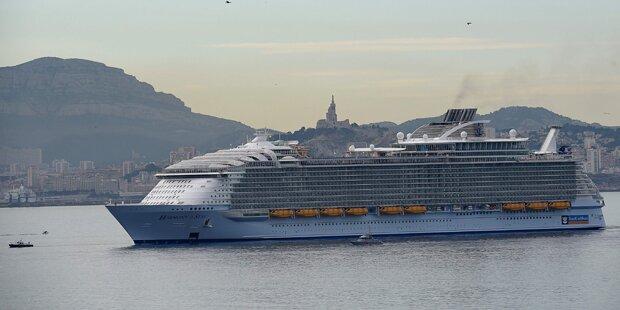 Todes-Drama auf größtem Kreuzfahrtschiff der Welt