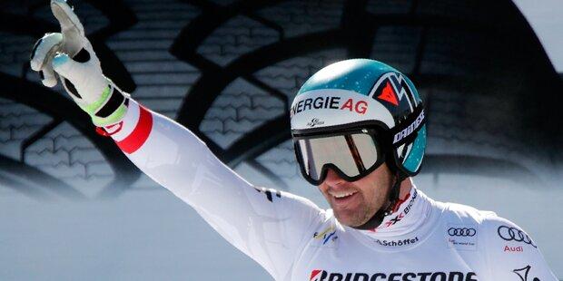 Kriechmayr rast in Garmisch auf Platz 2