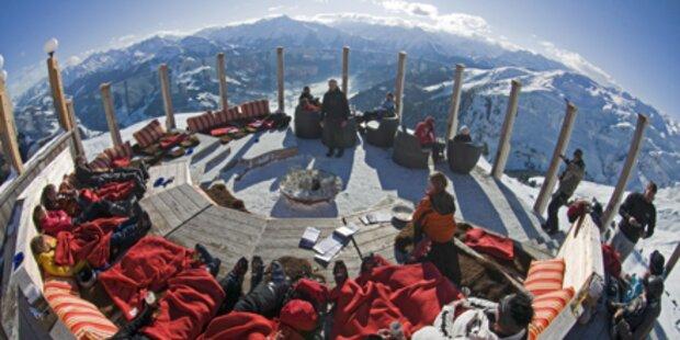 Österreichs Top-Hütten in den Bergen