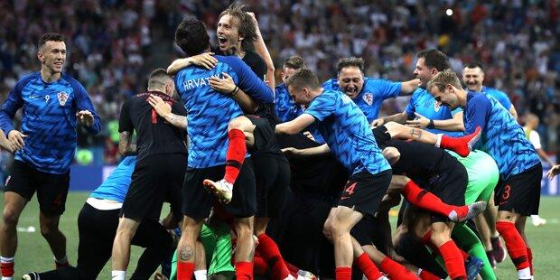 Kroatien im Viertelfinale