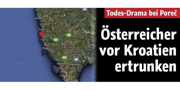 Österreicher in der Adria ertrunken