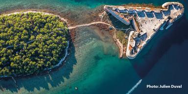 Kroatien Insel-Festung