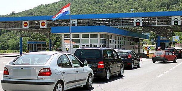 Grenzkontrollen Kroatien Slowenien