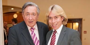 Helmut Werner & Richard Lugner