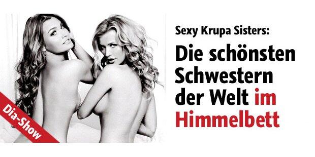 Sexy Krupa-Sisters vor Baumanns Linse