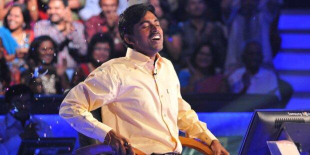 Armer Inder holt Mega-Gewinn im TV