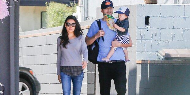 Mila Kunis und Ashton Kutcher: Ihr Kind ist da