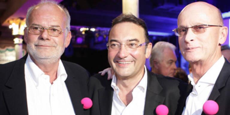 Kurt Mann, Manfred Ainedter & Heinz Stiastny