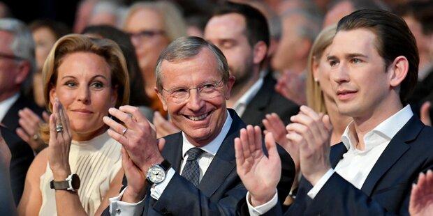 Pompöser VP-Wahlkampfauftakt in Salzburg