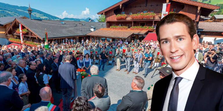 Kurz feiert seinen 32er in Alpbach