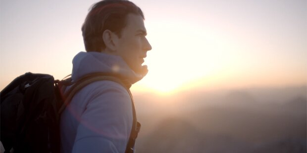 Kurz postet persönliches Bergsteiger-Video