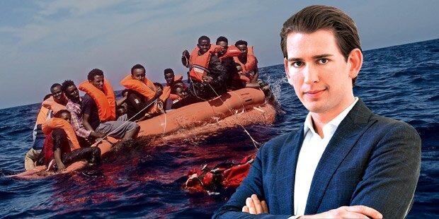 Kurz-Vorstoß lässt Flüchtlingsstreit eskalieren