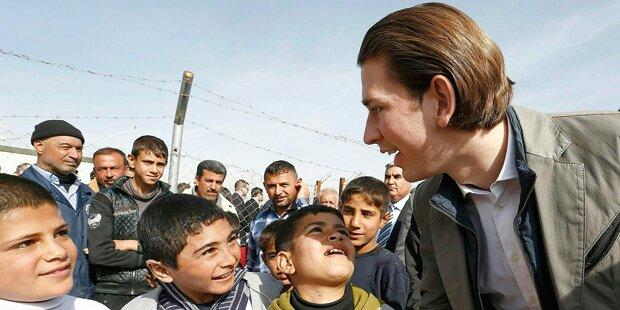 Kurz: Hoffnung für Iraks Kinder
