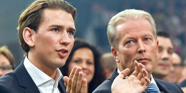 ÖVP-Granden verlangen Aussprache zwischen Kurz und Mitterlehner