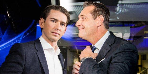 Strache behauptet: Kurz traf Silberstein