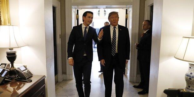 Trump: Polit-Beben nach Kurz-Besuch