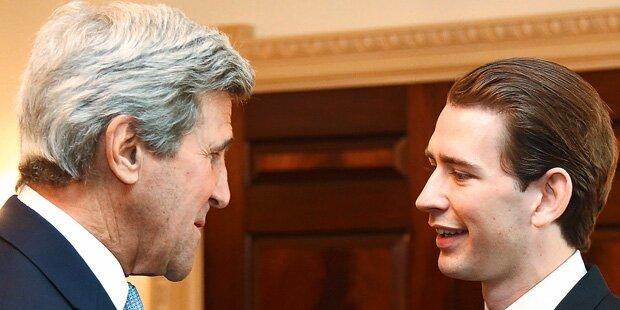 Kurz & Kerry: Allianz gegen Terror