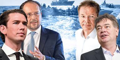 Kurz legt im Koalitions-Streit nach