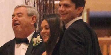 Kunis und Kutcher - Hochzeit!