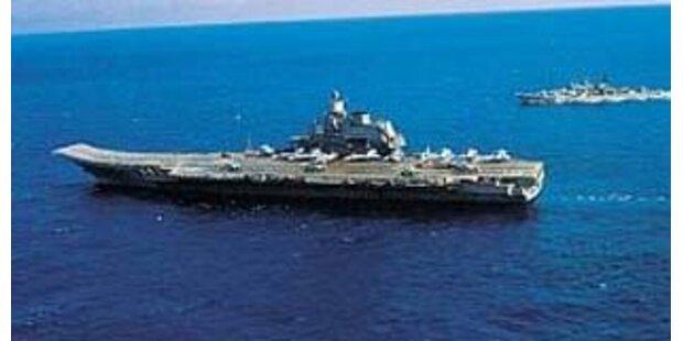 Wieder Starts von russischem Flugzeugträger