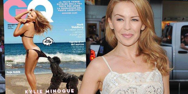 Kylie Minogue: Sexy Bikinicover mit 46
