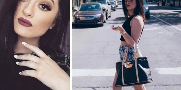 Die 19-jährige aus Michigan ist der kArdashian-Schwester wie aus dem Gesicht geschnitten.