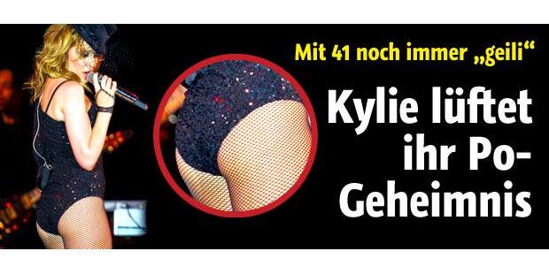 Kylie Minogue lüftet ihr Po-Geheimnis