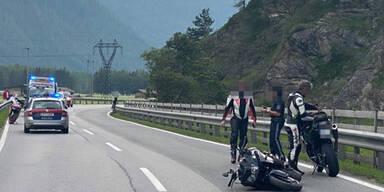Motorradfahrer in Tirol tödlich verunglückt