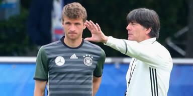 Löw will Müller zurückholen
