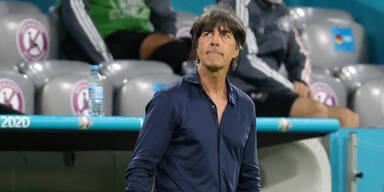 Bundestrainer Jogi Löw bei der EM 2020