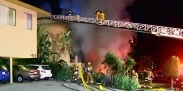 Brandserie: Feuerteufel hält L.A. in Atem