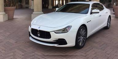 Neue Optik für den Maserati Ghibli