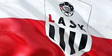 Fahne des LASK