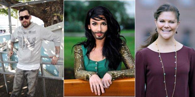2012 wird das Jahr der Promi-Lieben